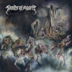 Seeds Of Agony – Morbid Reflections (CD Cover Artwork)