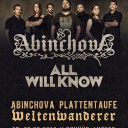 Abinchova - Schüür Luzern 2018