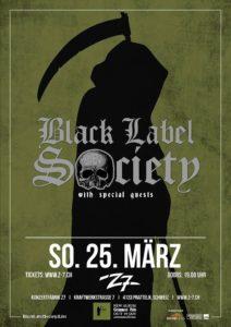 Black Label Society - Z7 Pratteln 2018