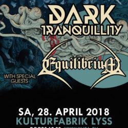 Dark Tranquillity - KuFa Lyss 2018