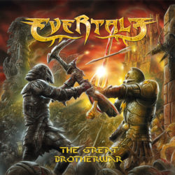 Evertale - The Great Brotherwar (CD Cover Artwork)