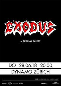 Exodus - Dynamo Zürich 2018