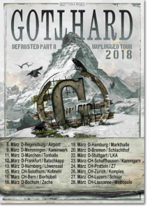 Gotthard - Defrosted Tour 2018