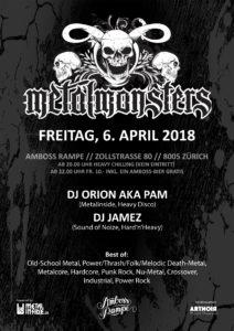 Metal Monsters XII - Amboss Rampe 2018 04 06 (Flyer)