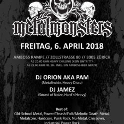 Metal Monsters XII - Amboss Rampe 2018 04 06 (Flyer)