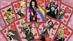 Metal Valentine Cards by moltenmetalmerch.com