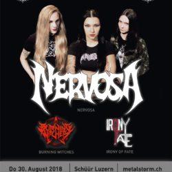 Nervosa - Schüür Luzern 2018