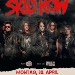 Skid Row - Crash Musikkeller Freiburg (D) 2018