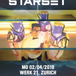 Starset - Werk 21 Zürich 2018 (Flyer)