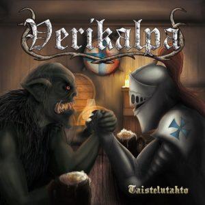 Verikalpa - Taistelutahto (CD Cover Artwork)