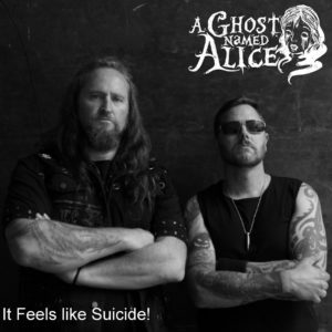 A Ghost Named Alice – It Feels Like Suicide (CD Cover Artwork)