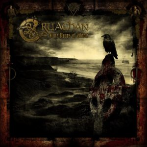 Cruachan - Nine Years of Blood (CD Cover Artwork)
