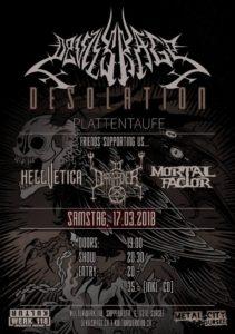 Devils Rage - Kulturwerk 118 Sursee 2018 (Plattentaufe)