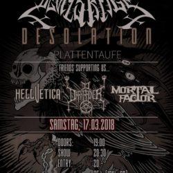 Devils Rage - Gaswerk Luzern 2018 (Plattentaufe)