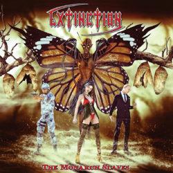 Extinction – The Monarch Slaves (CD Cover Artwork)