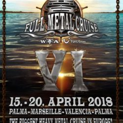 Full Metal Cruise VI - Mein Schiff 2 - April 2018
