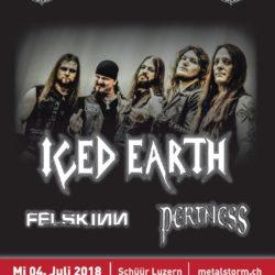Iced Earth - Schüür Luzern 2018