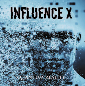 Influence X - Quantum Reality (CD Cover Artwork)