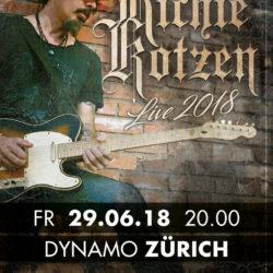 Richie Kotzen - Dynamo Zürich 2018