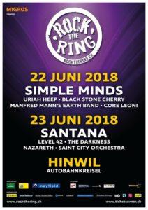 Rock The Ring 2018 - Autobahnkreisel Hinwil