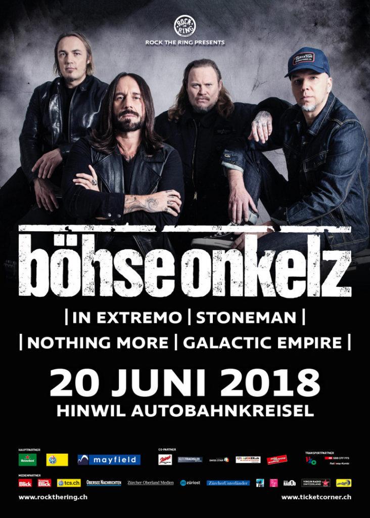 Rock The Ring 2018 Böhse Onkelz In Extremo Um ϟ Metalinside