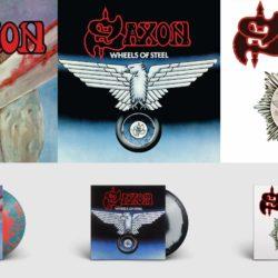 Saxon Re-Releases Collage