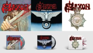 Saxon Re-Releases Collage