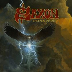 Saxon - Thunderbolt (CD Cover Artwork)