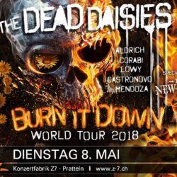 Dead Daisies - Z7 Pratteln 2018