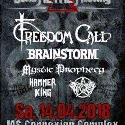 Delta Metal Meeting - MS Connexion Complex Mannheim 2018