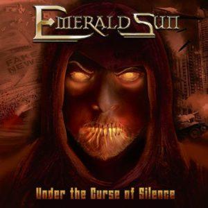 Emerald Sun - Under The Curse Of Silence (CD Cover Artwork)