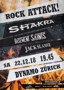 Shakra - Dynamo Zürich 2018
