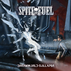 SpiteFuel - Dreamworld Collapse (CD Cover Artwork)