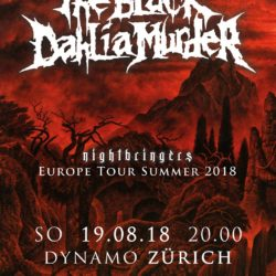 The Black Dahlia Murder - Dynamo Zürich 2018