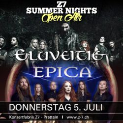 Z7 Summer Nights 2018 - Eluveitie, Epica