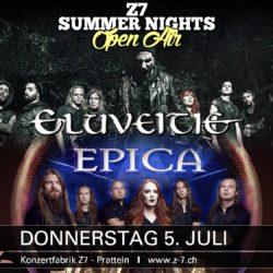 Z7 Summer Nights 2018 - Eluveitie, Epica