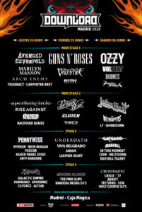 Download Festival - Madrid 2018