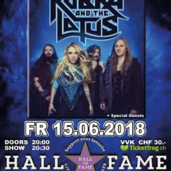 Kobra And The Lotus - Hall of Fame 2018
