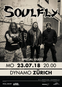 Soulfly - Dynamo Zürich 2018