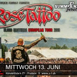 Z7 Summer Nights Open Air 2018 - Rose Tattoo