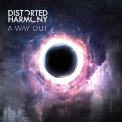 Distorted Harmony - A Way Out (Album Cover Artwork)