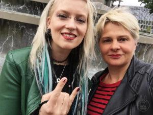 Burning Witches - Interview - Seraina Telli mit Liane - Foto Liane