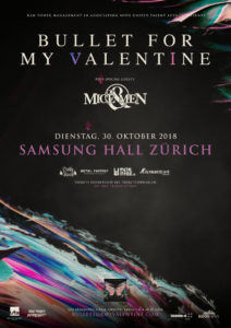 Bullet For My Valentine - Samsung Hall 2018 (Flyer)