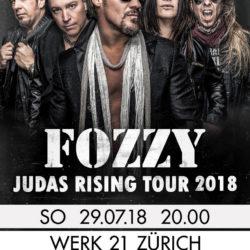 Fozzy - Werk21 Zürich 2018
