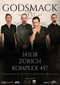 Godsmack - Komplex 457 Zürich 2018