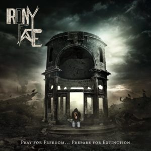 Irony Of Fate - Pay For Freedom… Prepare For Extinction (CD Cover Artwork)