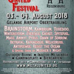 Metal United Festival 2018 - Regensburg