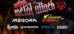Swiss Metal Attack - Z7 Pratteln 2018
