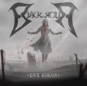 Blackhour - Sins Remain (CD Cover Artwork)