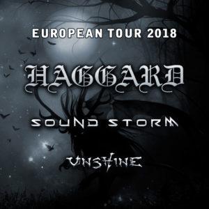 Haggard - European Tour - Z7 Pratteln 2018